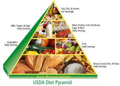 Healthy Food Pyramid | Healthy Food House
