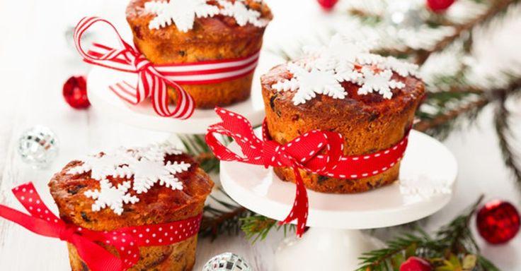 Как приготовить рождественские кексы с сухофруктами