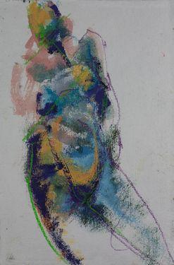 "Saatchi Online Artist Samuel Bonilla; Drawing, ""La Encarnada"" #art"