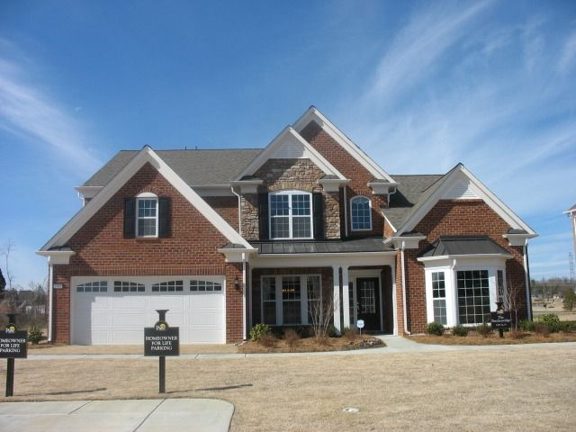 Charlotte nc relocation what type of exterior siding is - Stone brick exterior combinations ...