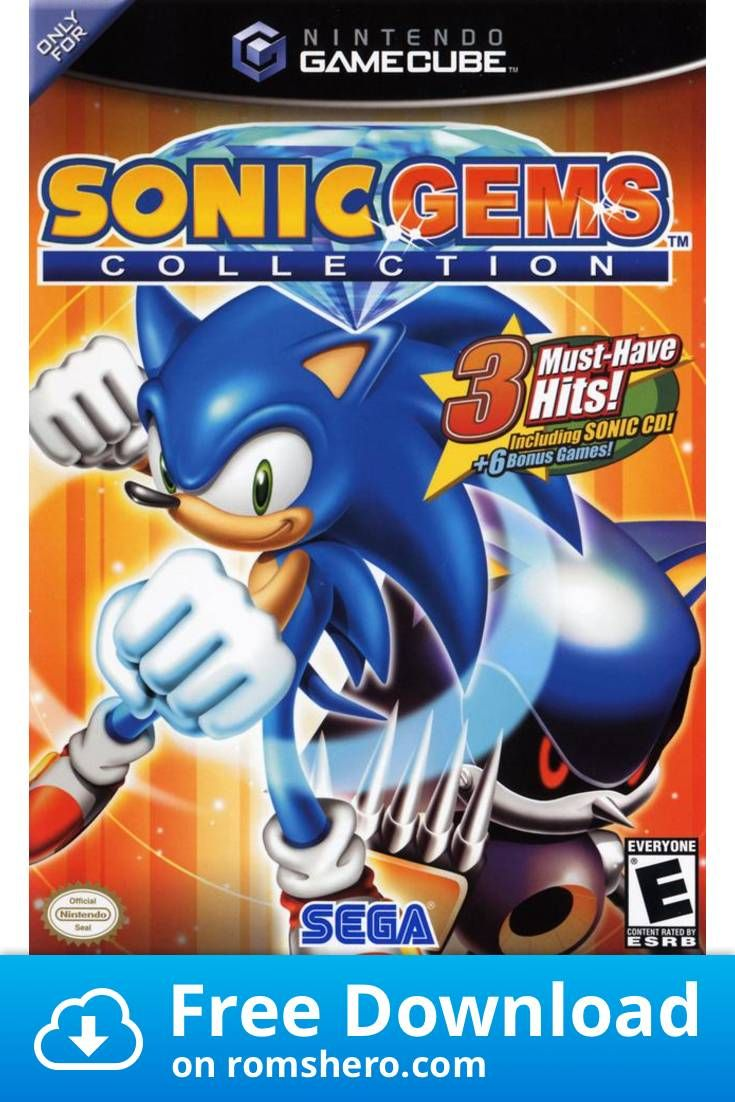 Download Sonic Gems Collection Gamecube Rom In 2020 Sonic