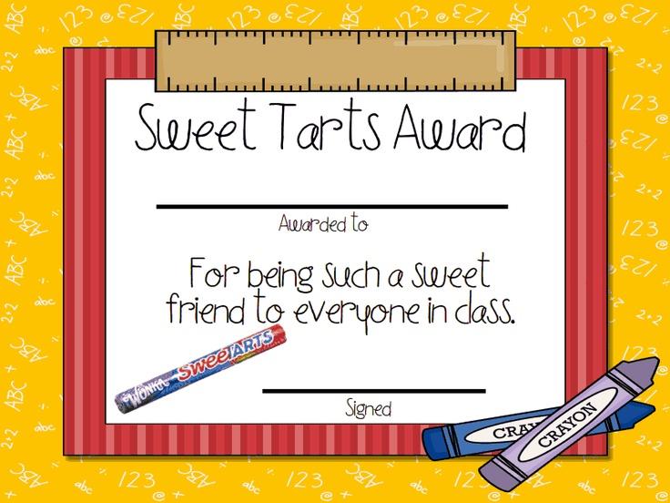 candy awards pdf