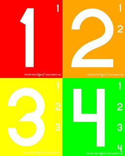Tips from a Typical Mom: Teach Kids Numbers {Free Printable Activity} Preschool/Kindergarten