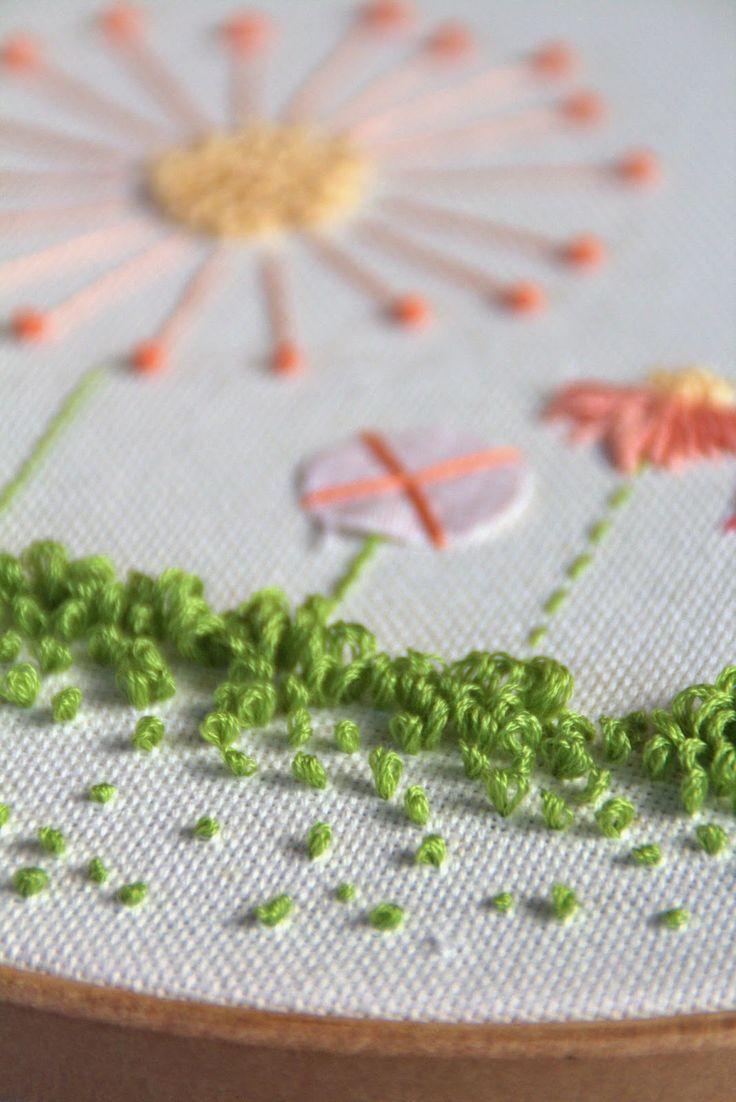 1058 best images about bordado on pinterest stitching for Decoracion habitacion bebe