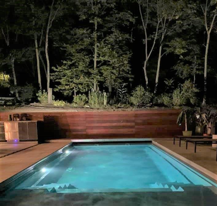 Imagine Pools Freedom 23 In 2021 Fiberglass Pools Swimming Pools Inground Pool