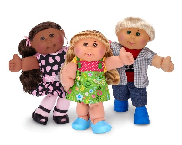 Cabbage Patch Kids, retro 80s toys.  Definitely not forgotten... those were the days. - http://icafewomanmoderne.blogspot.com
