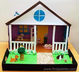 Pet Diorama craft