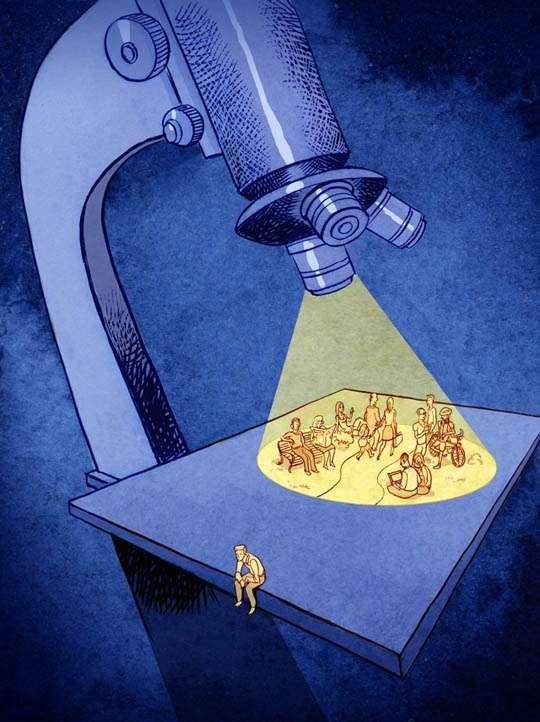 Social Surrealist Illustrations