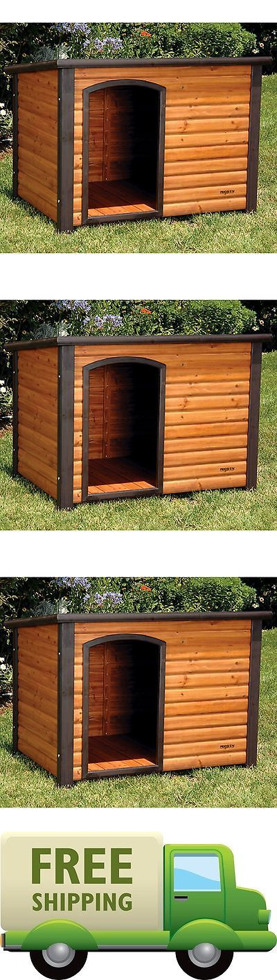 Dog Houses 108884: Dog House Pet Outdoor Large Weather All Durable Shelter Kennel Doghouse Wood -> BUY IT NOW ONLY: $110.58 on eBay!