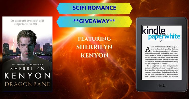 http://upvir.al/ref/D417196  Instantly download bestselling scifi romance ebooks and enter to win a Kindle Paperwhite ereader or a hardcover novel, DRAGONBANE, by Bestseller Sherrilyn Kenyon. Up to seven FREE ebooks downloadable from three bestselling authors!