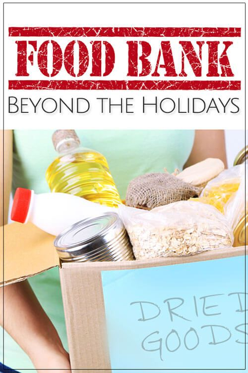 Learn about family-friendly activities to help food banks beyond the holidays. No one should go hungry at any time of the year.