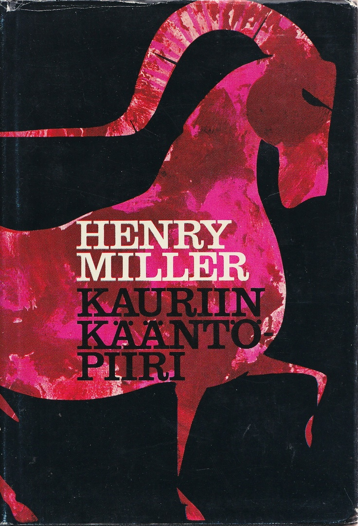 → Tropic of Capricorn by Henry Miller 1969 | 1st Finnish language ed.