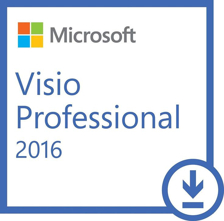 Microsoft Visio Professional 2016 DVD Brand New Genuine  1 PC Install
