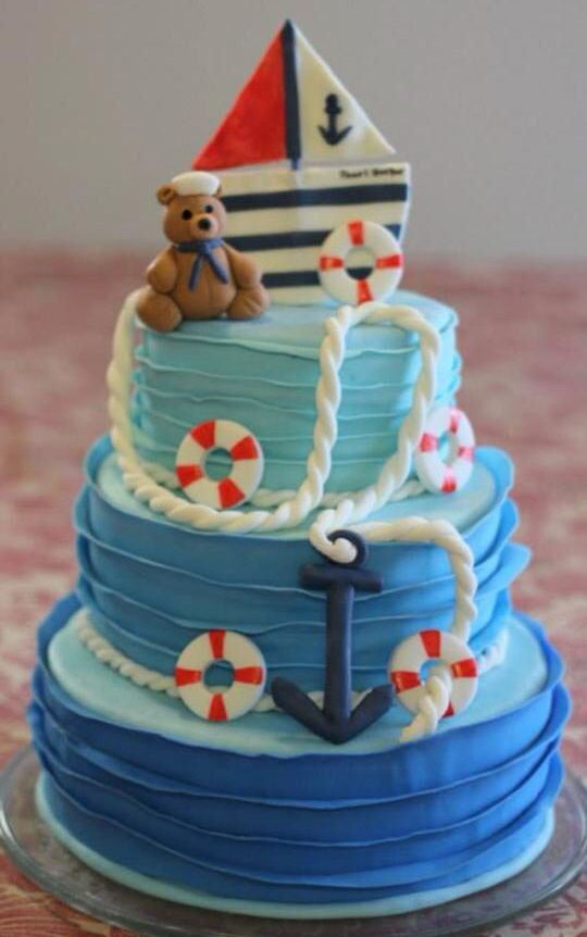 Boys Birthday cake Kids Birthday Cakes Pinterest Boy ...