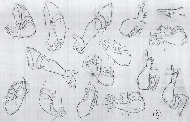 Hands are perhaps one of the most difficult things to draw