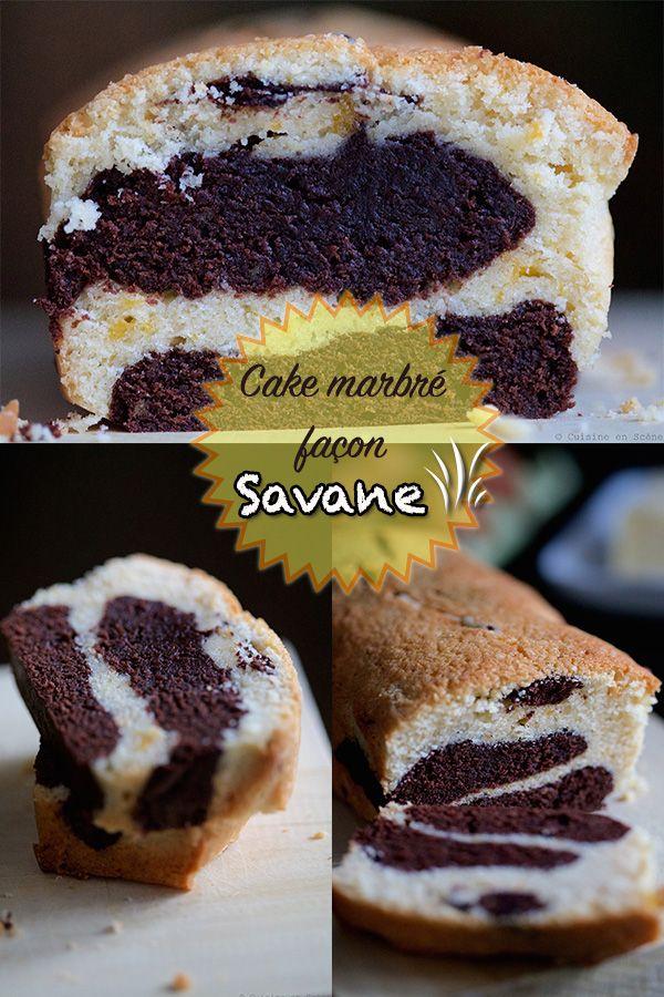 Gateau quatre quart chocolat vanille