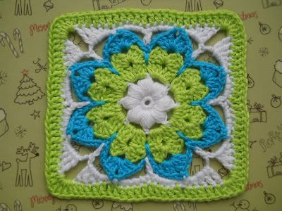 octagon flower, inspiration.