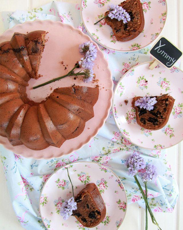 Bizcocho de Oreo y chocolate Milka