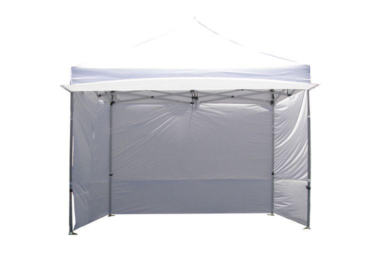 Alumix 10'x10' EZ Pop Up Canopy Tent Instant Canopy Commercial Tent with Sidewalls