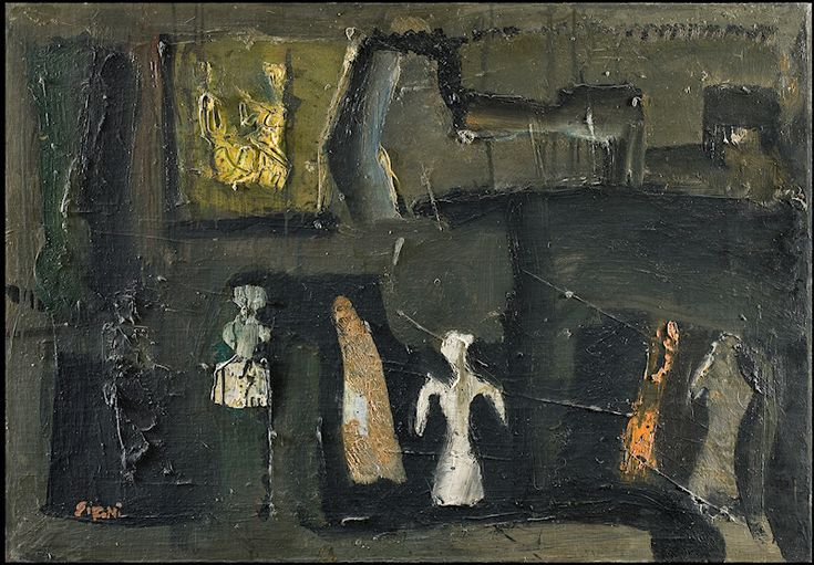 Artgate Fondazione Cariplo - Sironi Mario, Composizione o Composizione e figure - Mario Sironi - Wikipedia