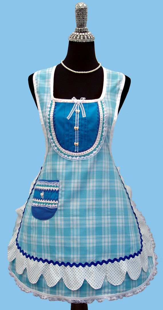 I like the style of this apron