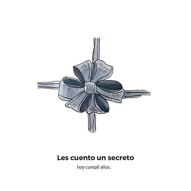 Feliz cumpleaños to me. Otro secretos son los besos secretos garitma.com/besos-secretos #garitma #garitmatico #textoeimagen