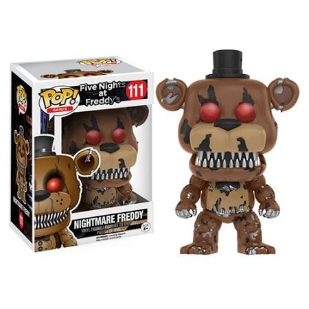 Funko Pop! Five Nights at Freddy's Nightmare Freddy   Planet of the Pops   Video…