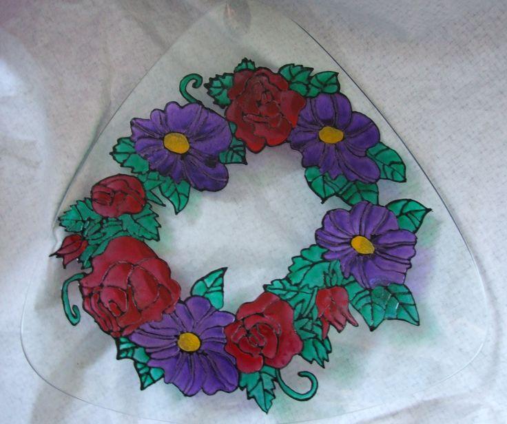 Fruit Bowl www.Angies-Glassworks.com
