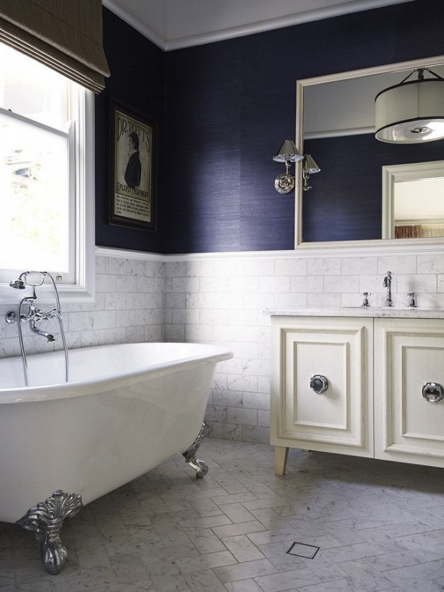 1000 images about bathrooms powder rooms on pinterest freestanding tub white bathrooms and. Black Bedroom Furniture Sets. Home Design Ideas
