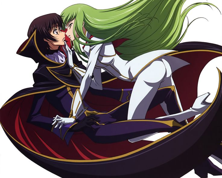 Anime Code Geass C.C. (Code Geass) Lelouch Lamperouge ...
