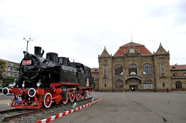 romania trains | Arad Romania city train station 2