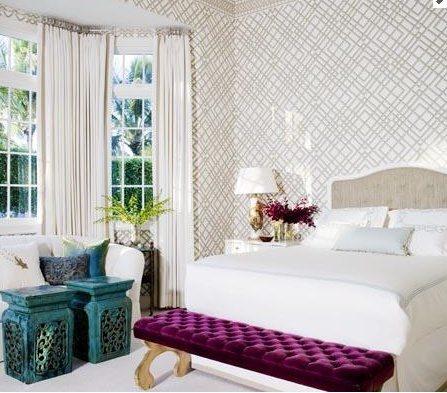 Purple teal bedroom bedrooms pinterest gardens for Purple teal bedroom