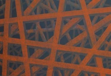 untitled corten structure