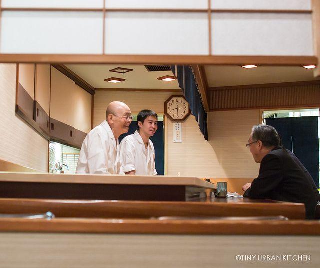 Sukiyabashi Jiro restaurant in Ginza, Chūō, Tokyo, Japan. Subject of documentary: Jiro Dreams of Sushi #treasuredtravel