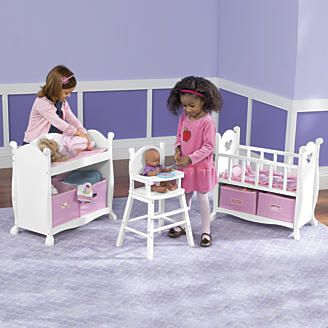 Marvelous Doll Changing Table From One Step Ahead.