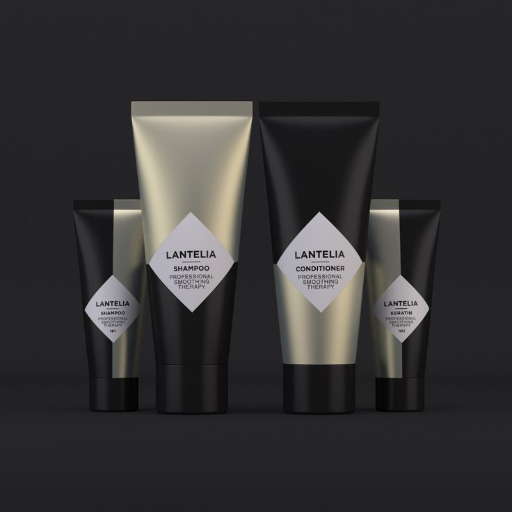 Lantelia Hair Care on Packaging of the World - Creative Package Design Gallery