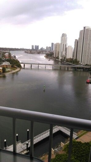 Moorings apartments view nothing better than this #SurfersParadise #GoldCoast #Queensland #Australia #Carrara
