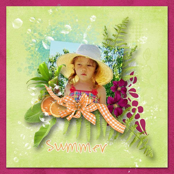 "NEW*NEW*NEW  ""Summer splash"" by Design by Brigit   5 packs just $1.00 each  https://www.digitalscrapbookingstudio.com/collections/coordinated-collections/summer-splash/?features_hash=13-11  vnučka Terezka"