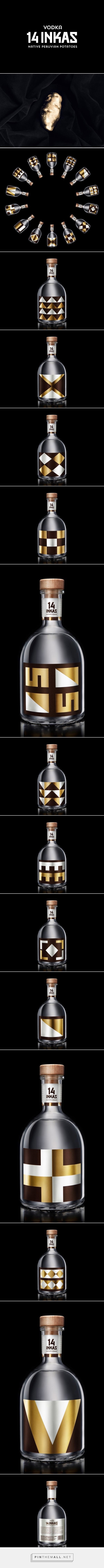 14 Inkas Vodka packaging design by IS Creative Studio - http://www.packagingoftheworld.com/2017/11/14-inkas.html