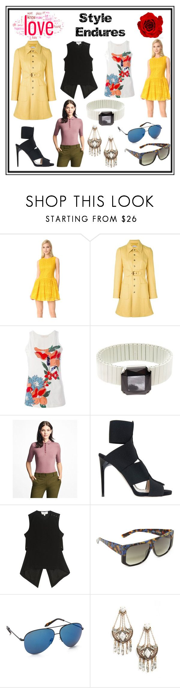 """Style Endure"" by cate-jennifer ❤ liked on Polyvore featuring RED Valentino, Tory Burch, Isabel Marant, Brooks Brothers, Paul Andrew, 10 Crosby Derek Lam, Hadid, Victoria Beckham and Cara"