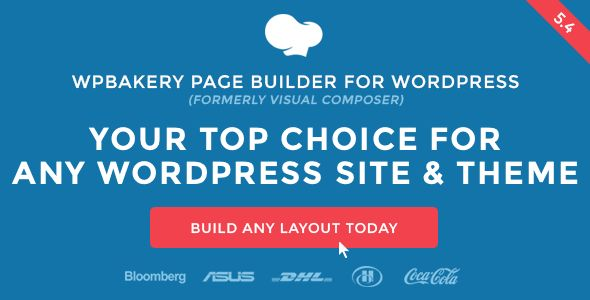 Visual Composer v5.4.5 – Page Builder WordPress Plugin Free Download Visual Composeris a page builder wordpress plugin of wpbakery. Visual Composer is also known as WPBakery Page Builder. Visual Composer is the #1 most popular award winning drag & drop frontend and backend editor for wordpress. Visual Composer can be used for any serious business based wordpress website.   #MAHThemes #Updated