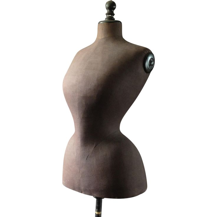 Antique Dress Form, French Mannequin, Stockman mannequin, wasp waist, dress makers, store display,