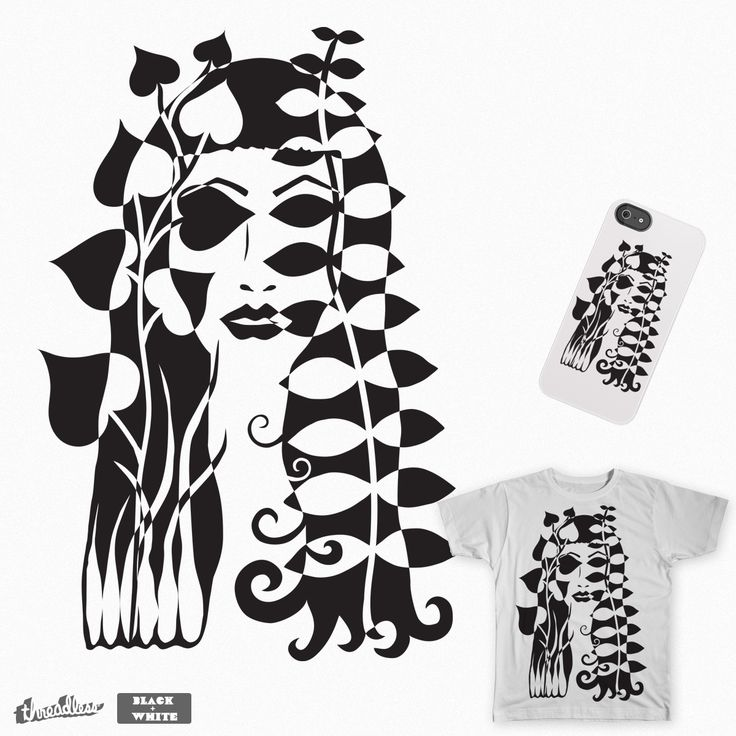 She is in the jungle on Threadless