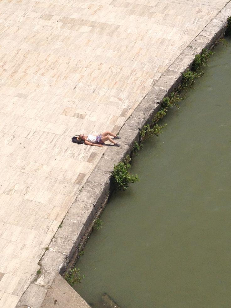 On the Banks of the Tiber