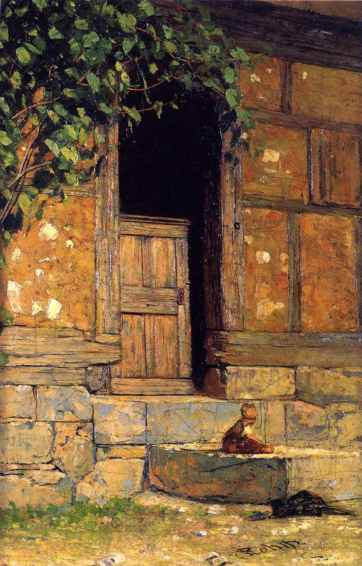 Front Door, Christian Rohlfs