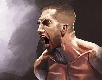 """Check out new work on my @Behance portfolio: """"Jake - Free time paint practice"""" http://on.be.net/1PqqTZ3"""