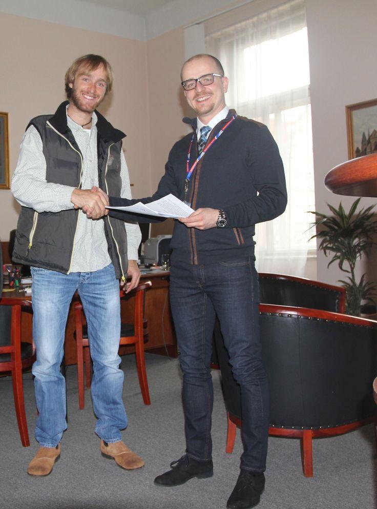 Aktivity Jakuba Vágnera jsme několikrát podpořili...