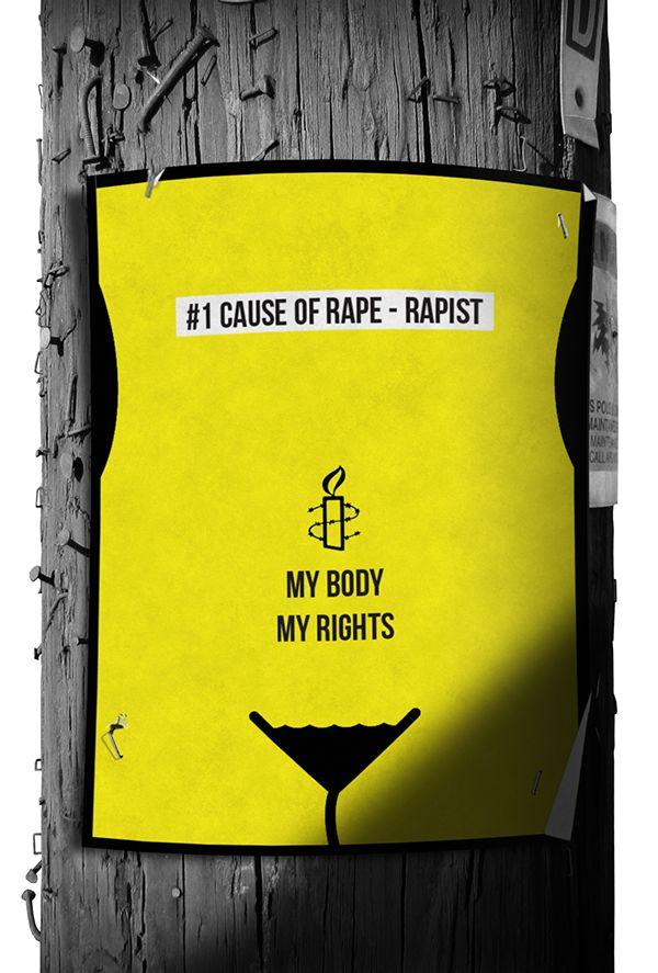 Behance :: Editing Amnesty poster