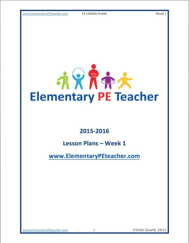 66 best PE - Lesson Plans images on Pinterest Activity games - physical education lesson plan template