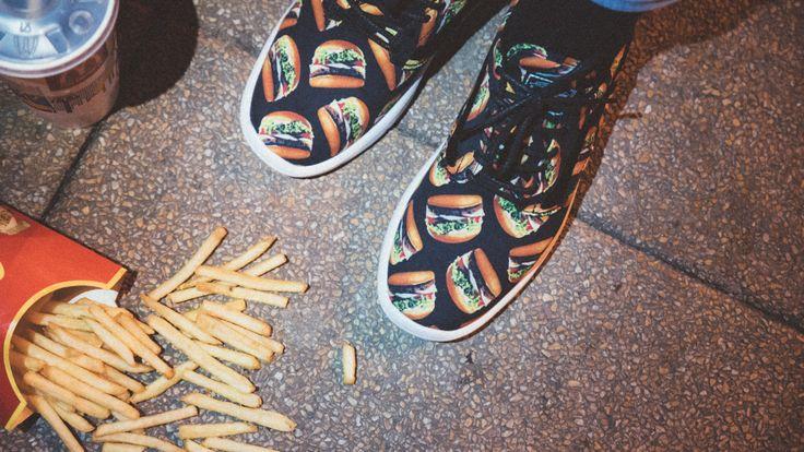 1000sneakers.com: California Fries and Waffle Burgers! _en Vans...